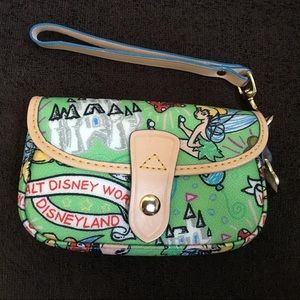 Dooney and Bourke Disney Sketch Wristlet
